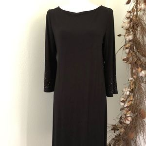 Kim Rogers Black Dress Small